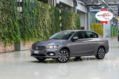 """""""Autobest 2016"""" για το νέο Fiat Tipo"""