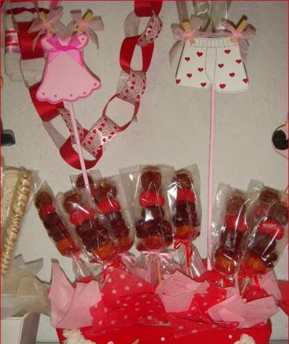 Clo dulces delicias alfajores decorados mesas de frutas for Decoracion casa despedida soltera