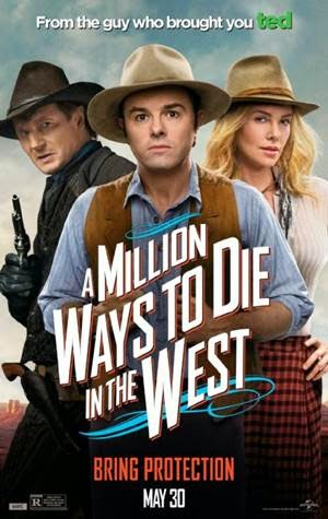 A Million Ways to Die in the West promo art