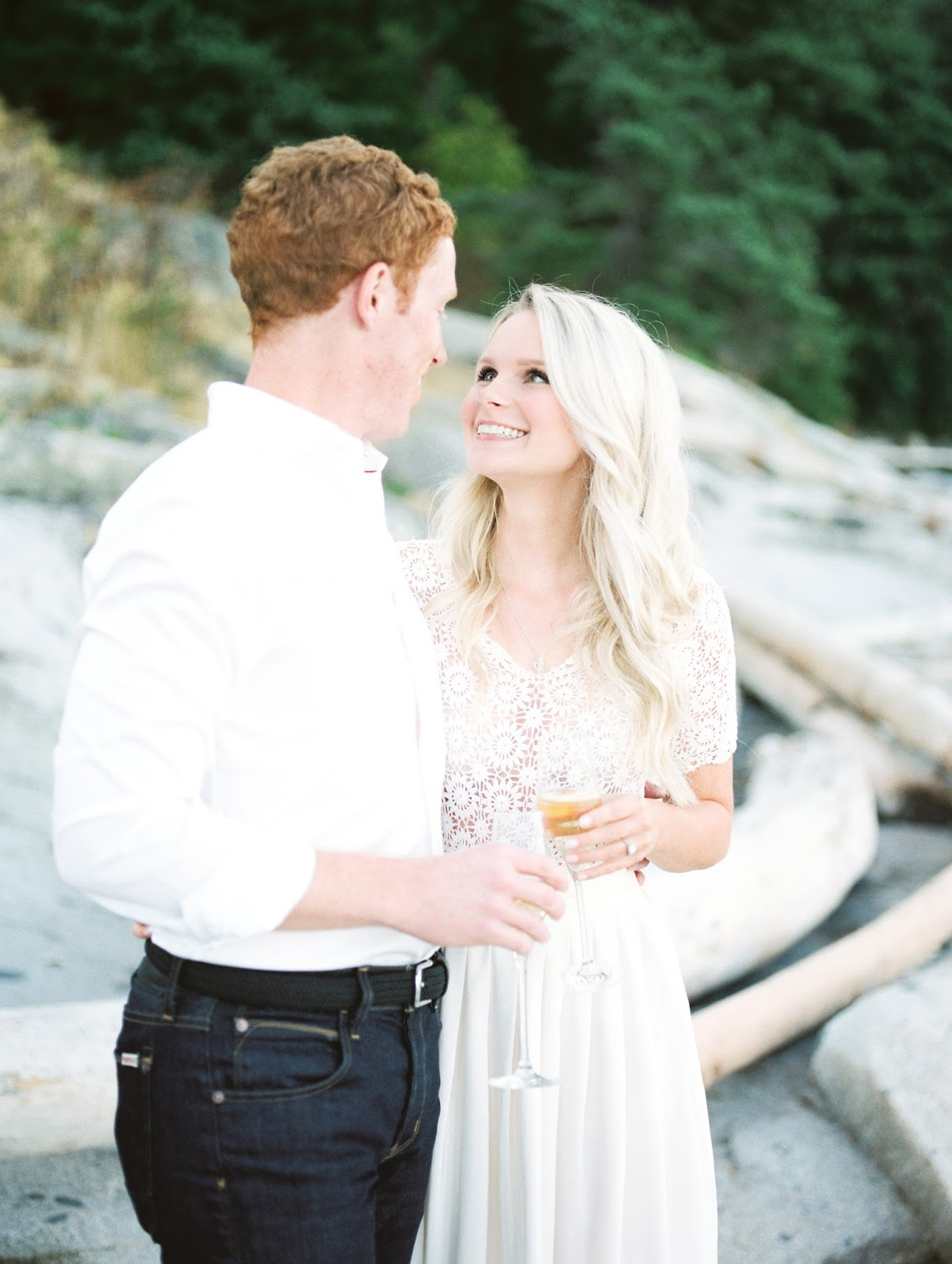 engagement photos in the lower mainland