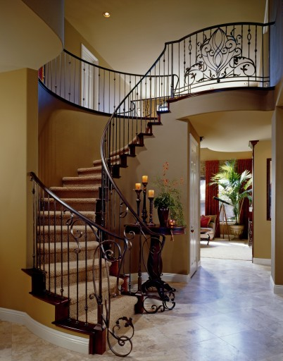 Foyer Stairs Design : Keralaarchitect staircases in kerala homes