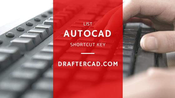 Kode shortcut Autocad - key