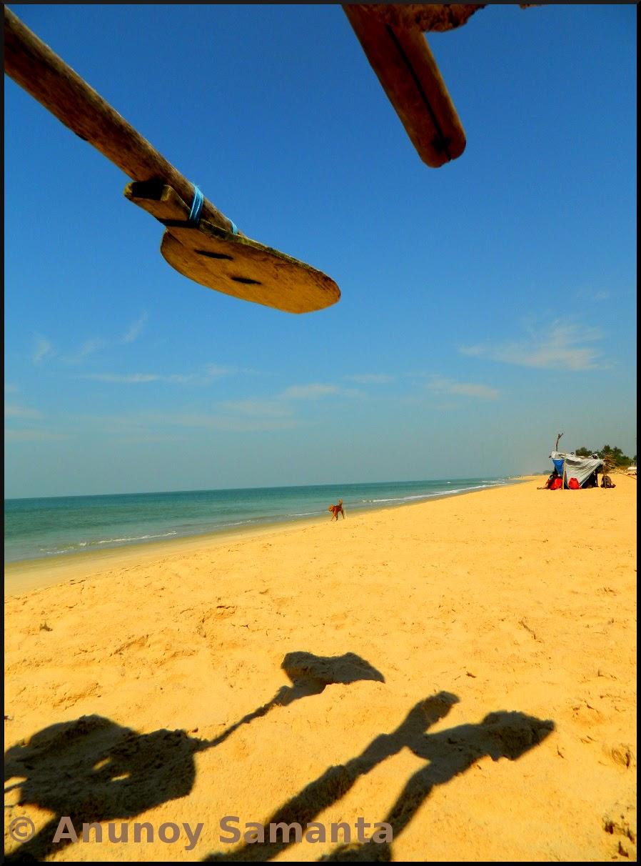 Little Shadows over the Sunny Beach