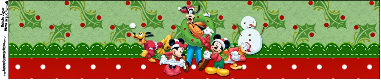 Candy bar mickey mousse christmas