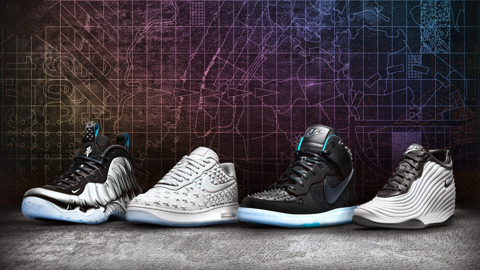 on sale 350e9 9a278 NIKE UNVEILS THE NEW YORK CITY ALL-STAR WEEKEND PACK!!