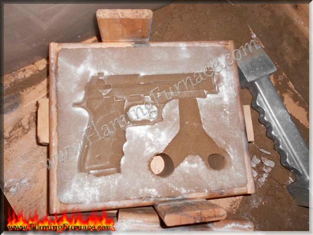 Casting aluminum pistol and suppressor replica ~ Metal ...