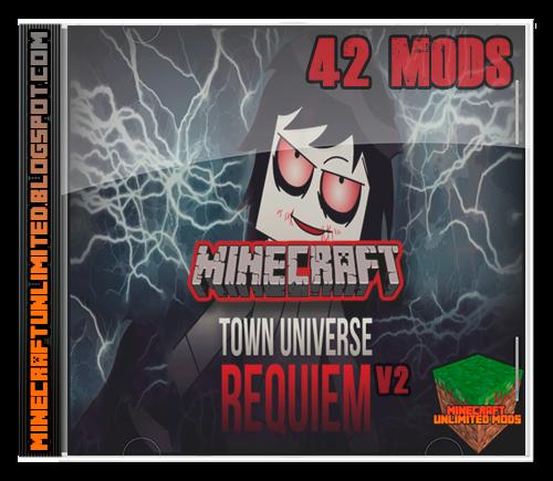 Town Universe Requiem Mods Pack Minecraft