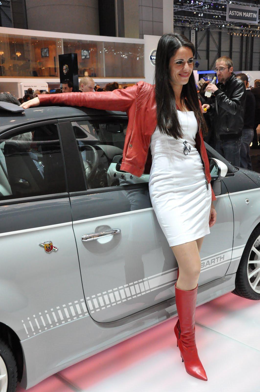AUTOSHOWPICTURES: FIAT ABARTH GIRL