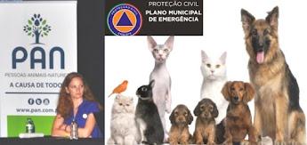 animais incluidos no plano de emergência
