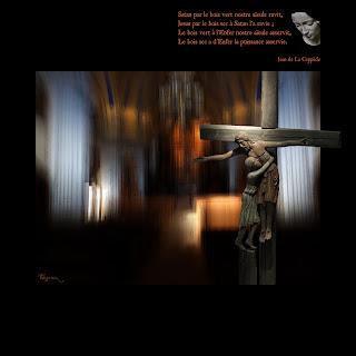 Antithèses de la Croix à l'arbre deffendu, Jean de La Ceppède