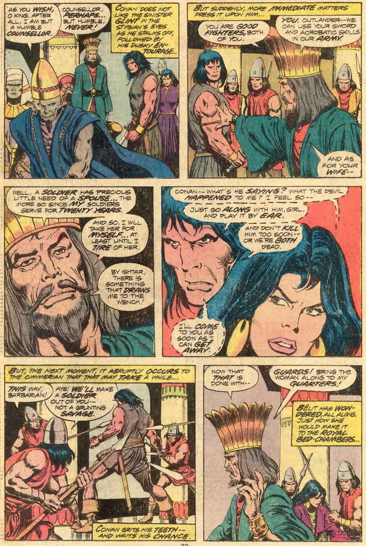 Conan the Barbarian (1970) Issue #72 #84 - English 13