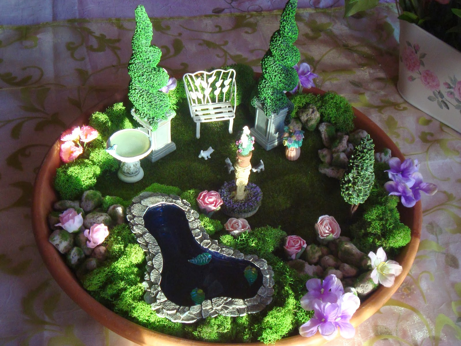 Rosebud 39 S Castle Fairy Garden Party