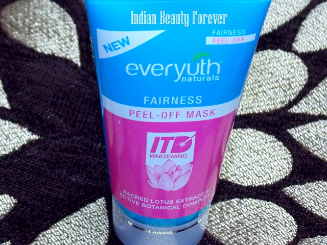 Everyuth Naturals Fairness Peel Off Mask Review