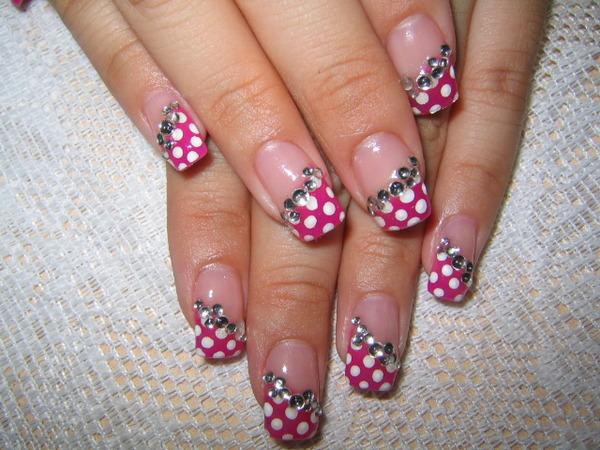 Pink Nail Art Designs | Beauty Tips Info