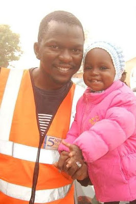 Photos of man and his daughter killed during the Army/Shiite clash in Zaria