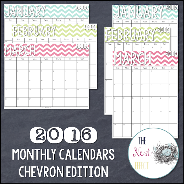 https://www.etsy.com/listing/257847667/2016-monthly-calendars-chevron-edition