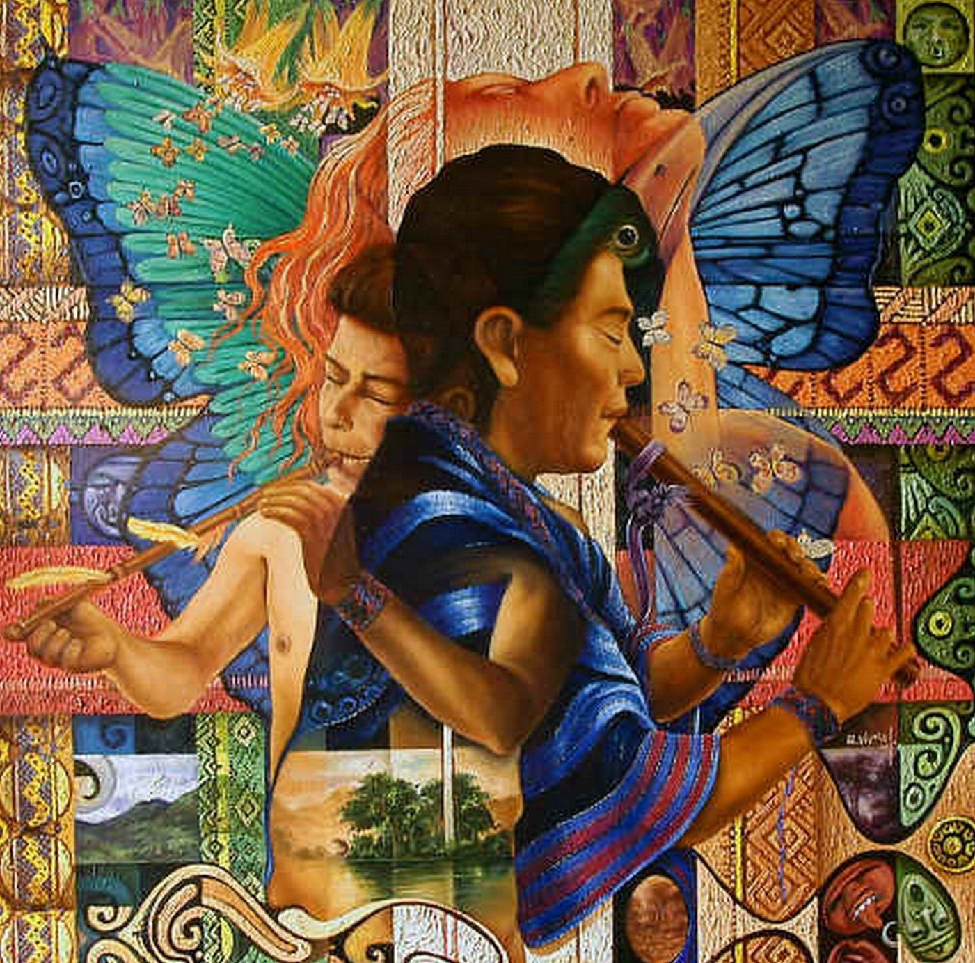 Pintura moderna y fotograf a art stica alfredo vivero for Pintor y muralista colombiano