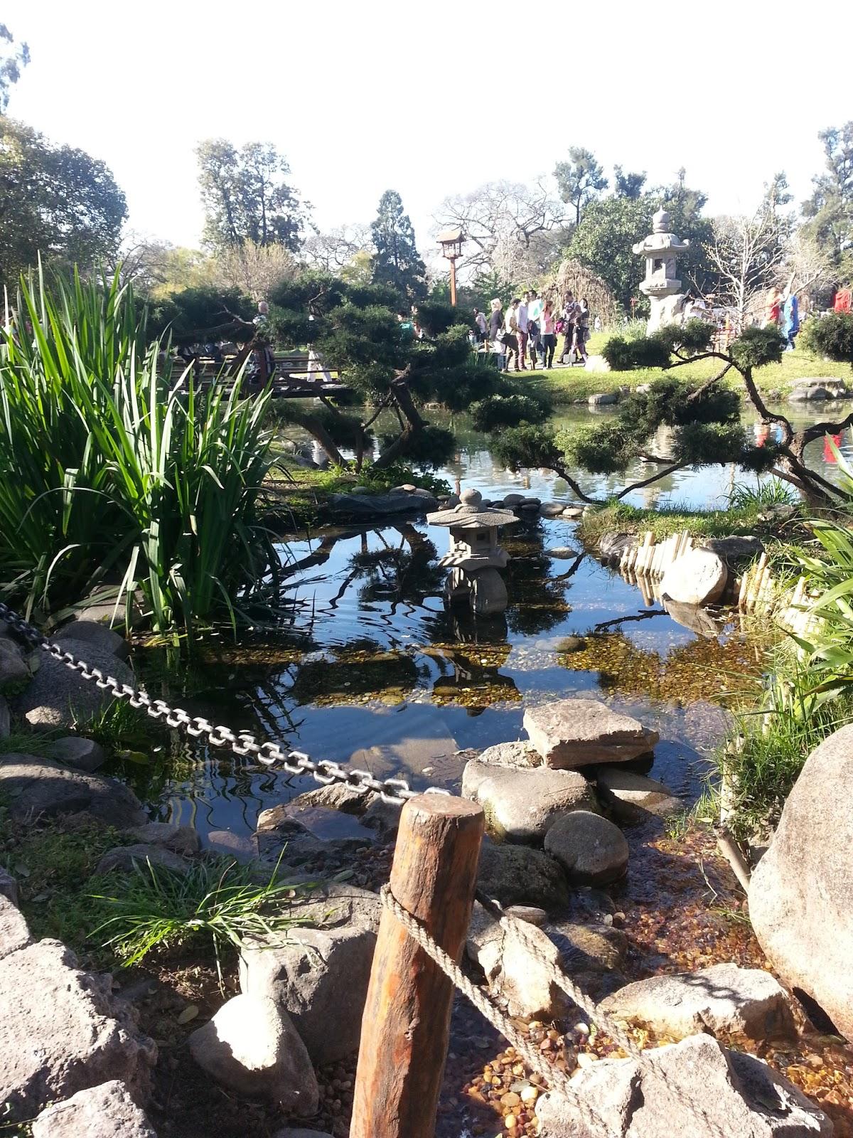 Se renueva en cada temporada el Jardín Japonés de Buenos Aires