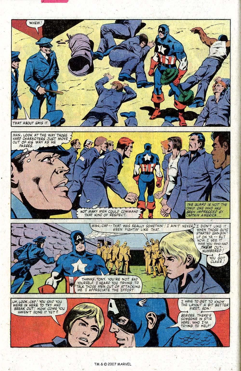 Captain America (1968) Issue #260 #175 - English 14