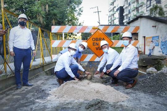En Moniquirá comenzó la construcción del nuevo puente vehicular La Campana