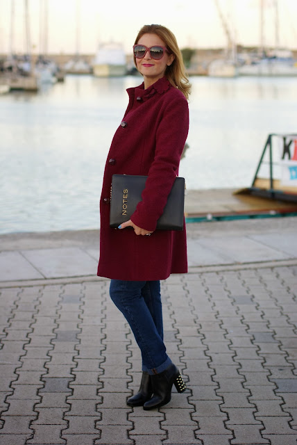 Michael Kors Linden boots, cappotto VerySimple, boiled wool coat, Fashion and Cookies, fashion blogger
