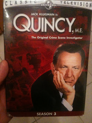 be but the TV show Quincy.