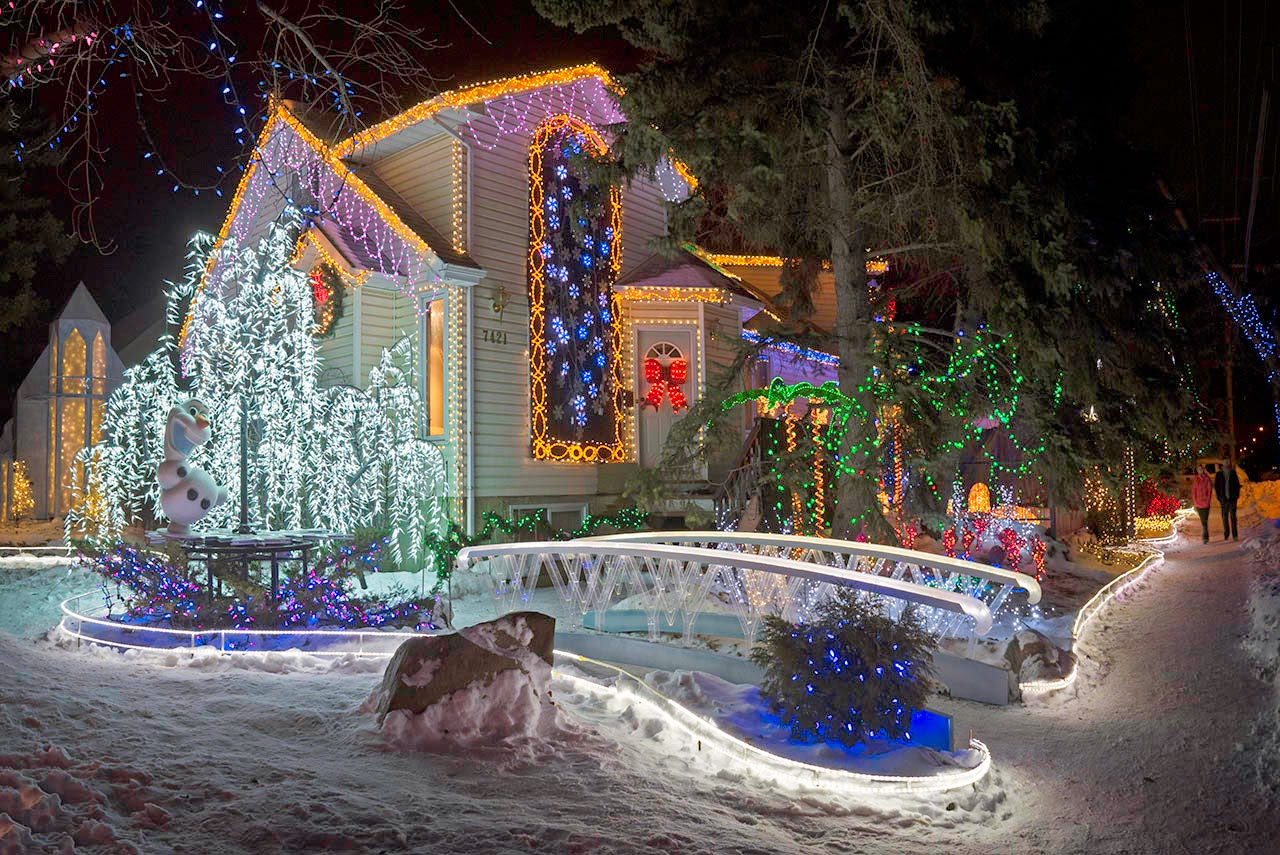 Edmonton Christmas Lights