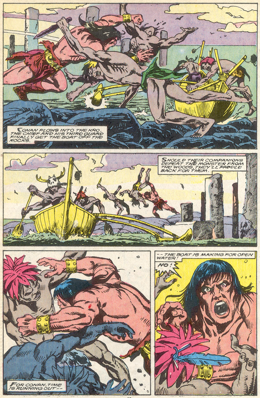 Conan the Barbarian (1970) Issue #218 #230 - English 17