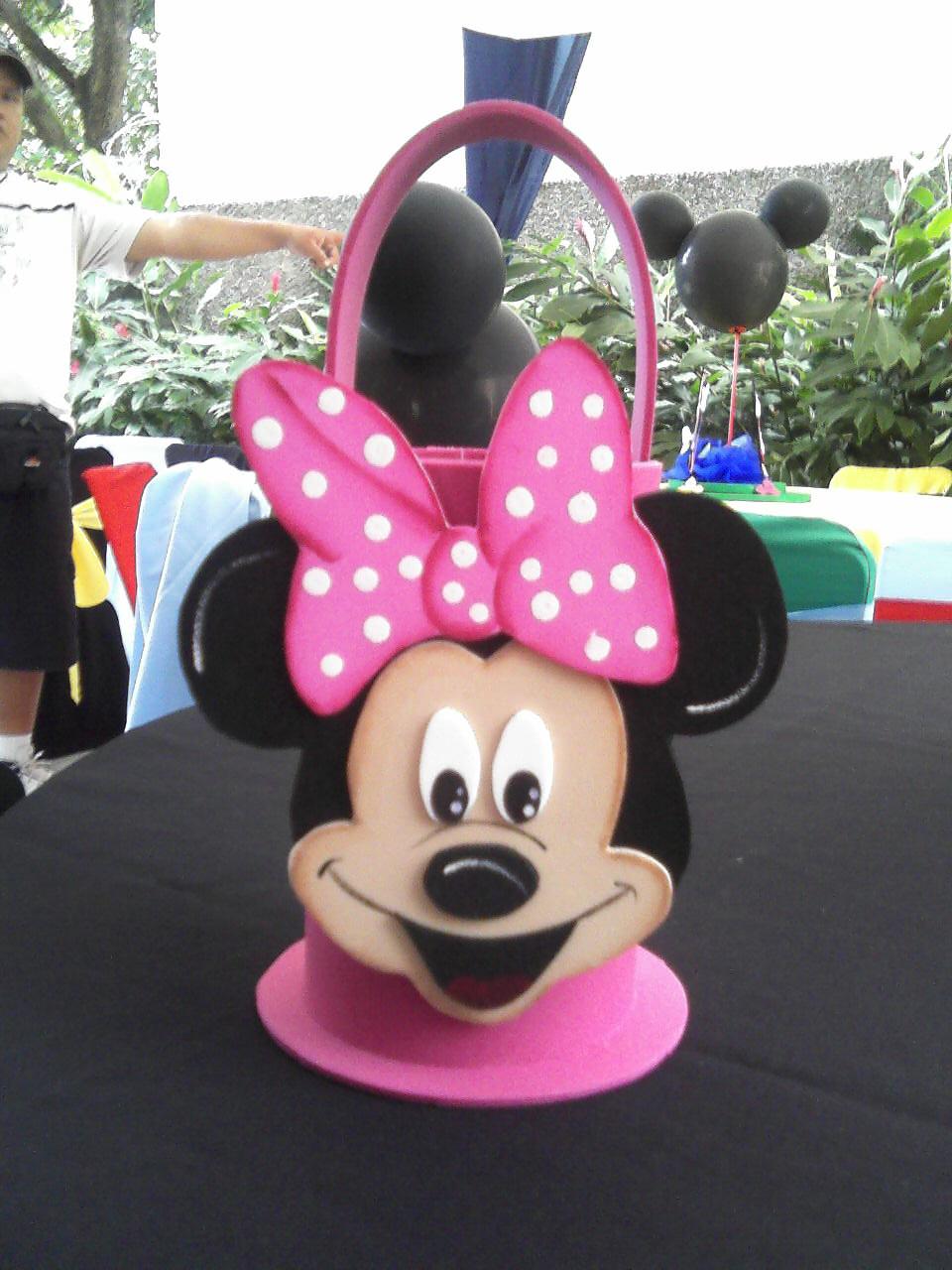 Cotillones en foami de Minnie Mouse - Imagui