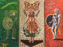 Raices (triptych)