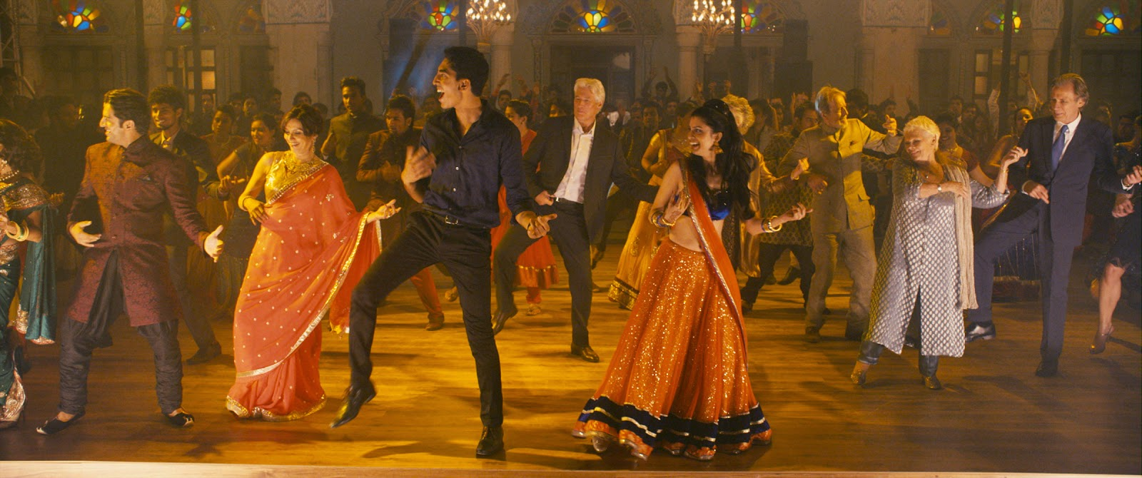 Cast of The Second Best Exotic Marigold Hotel