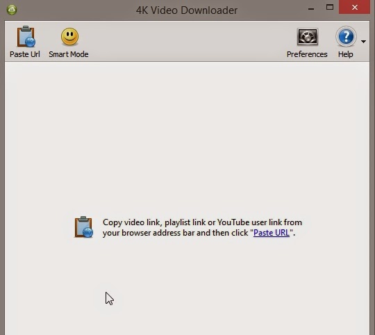 4K Video Downloader Interface