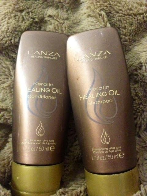 lanza keratin healing oil omdöme