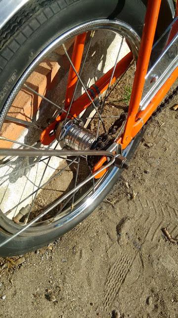 bicicleta Baronia restaurada
