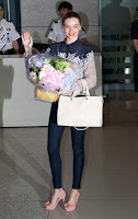 Miranda Kerr at Incheon International Airport