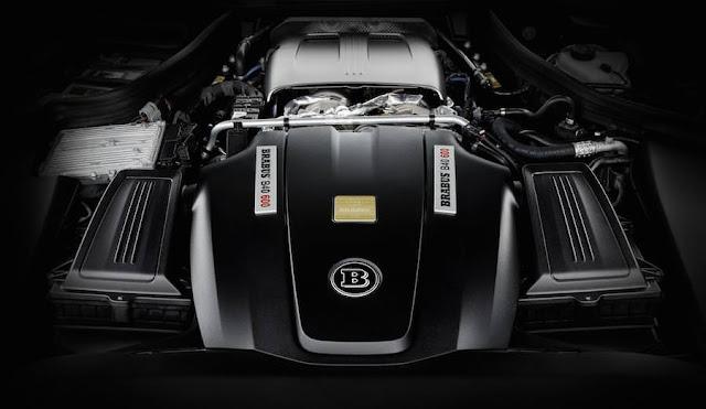 600馬力にチューンされたブラバス仕様の「メルセデスAMG GT S」が登場。