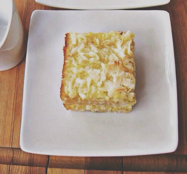 coconut lemon bars | une gamine dans la cuisine
