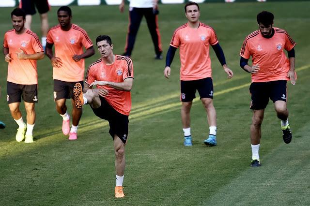 Bayern de Munique espera um jogo complicado contra o Olympiacos, na Grécia (foto: Aris Messinis/AFP)