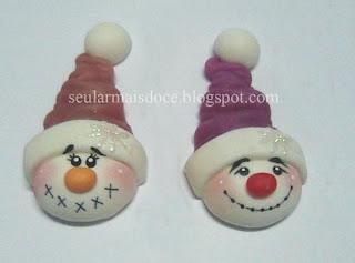 Boneco de neve de Biscuit