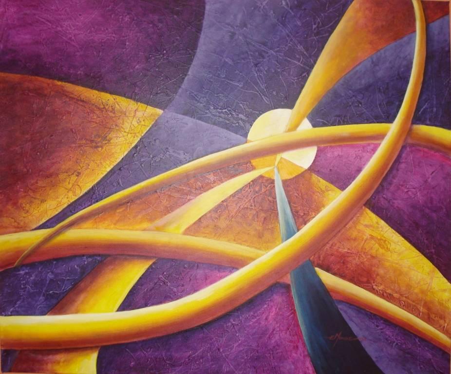 Arte al sur colores complementarios - Cuadros con colores calidos ...