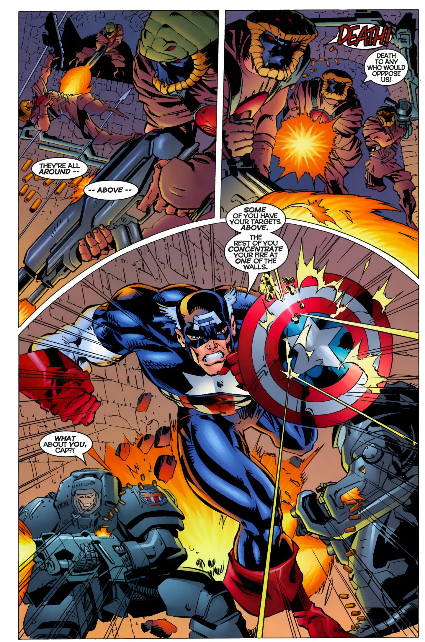 Captain America (1996) Issue #10 #10 - English 14
