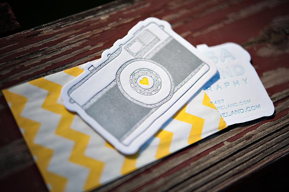 Cartões de visitas para fotógrafos