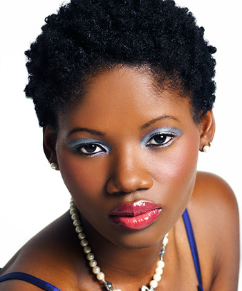 Short Natural Hair Black Women