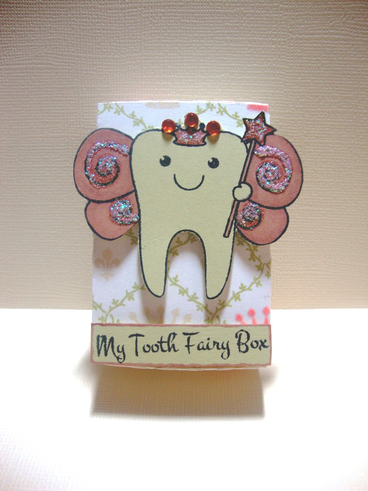 Tooth fairy box craft - Thursday June 7 2012