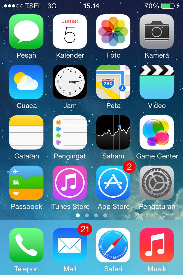 Cara Cepat Print Screen atau Screen Shot Iphone dan Ipad pada IOS