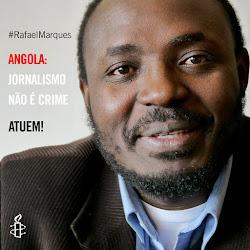 Assine: Angola: a liberdade de expressão é mais importante do que os diamantes