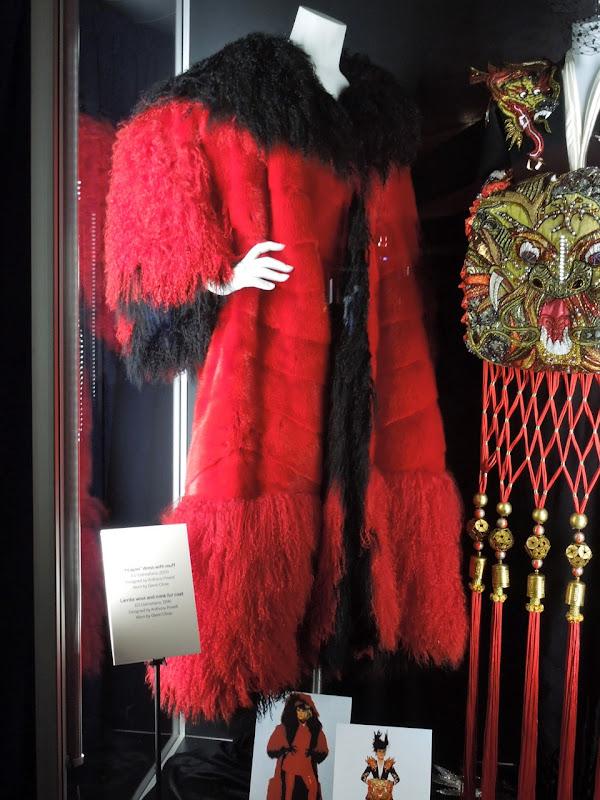 101 Dalmatians Cruella de Vil fur coat