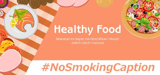 Makanan yang dapat menghilangkan nikotin dalam tubuh