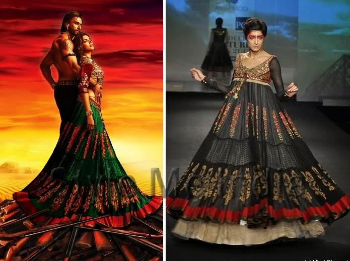 CitiGirlScene: Ram-Leela: Costume Spotlight