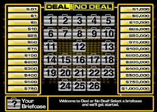 لعبة الحياة , ديل او نو ديل 2013 Deal or no Deal